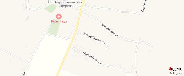Молодежная улица на карте села Кощеево с номерами домов