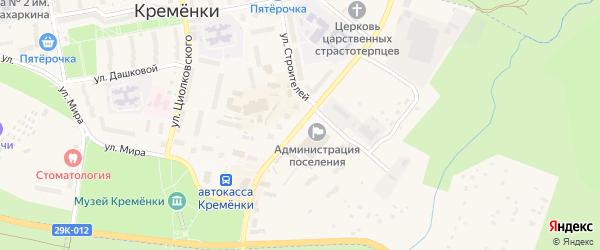 Улица Ленина на карте Кременки с номерами домов