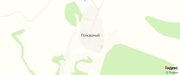 Карта Пожарного хутора в Белгородской области с улицами и номерами домов