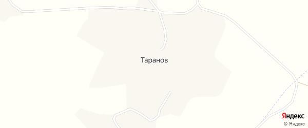 Улица Мира на карте хутора Таранова с номерами домов