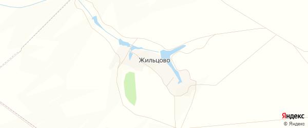 Карта хутора Жильцово в Белгородской области с улицами и номерами домов