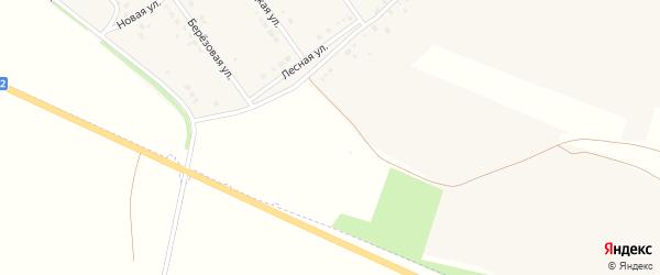 Переулок Дружбы на карте села Подкопаевки с номерами домов