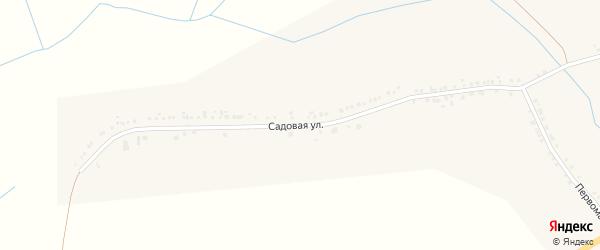 Садовая улица на карте села Белянки с номерами домов