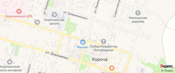 Улица Ленина на карте Корочи с номерами домов