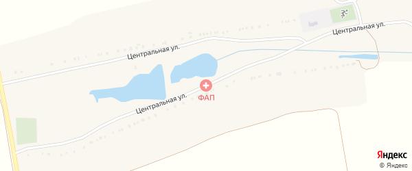 Центральная улица на карте села Морозово с номерами домов