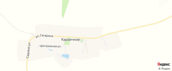 Карта Караичного села в Белгородской области с улицами и номерами домов
