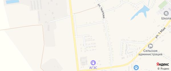 Новый переулок на карте Скородного села с номерами домов