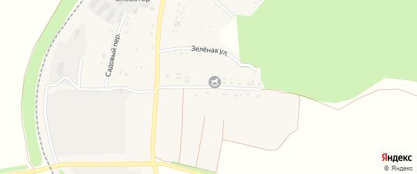 Солнечная улица на карте Долгого села с номерами домов