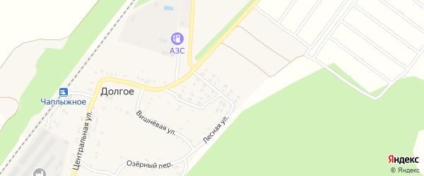 Рябиновая улица на карте Долгого села с номерами домов