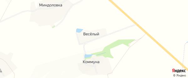 Карта Веселого хутора в Белгородской области с улицами и номерами домов