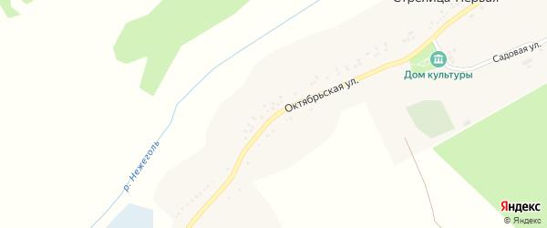 Улица Куйбышева на карте села Стрелицы-Второй с номерами домов