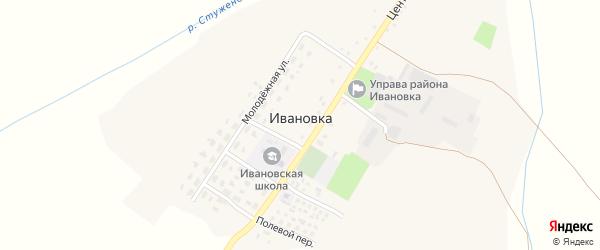 Дальняя улица на карте села Ивановки с номерами домов