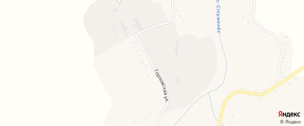 Горловская улица на карте села Ивановки с номерами домов