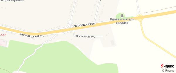Восточная улица на карте села Бобровы Дворы с номерами домов