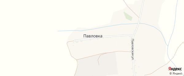 Улица Спецовка на карте села Павловки с номерами домов