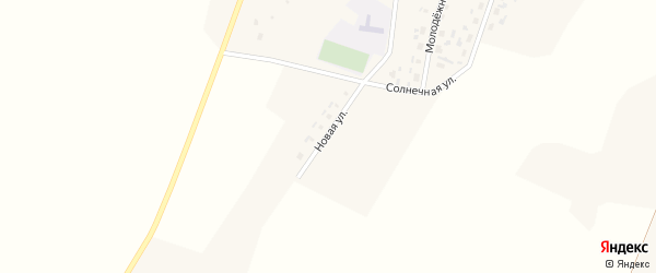 Новая улица на карте села Коньшино с номерами домов
