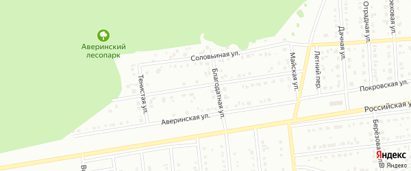 Славянская улица на карте Губкина с номерами домов