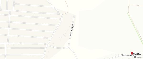 Луговая улица на карте села Кандаурово с номерами домов