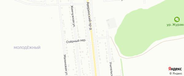 Аверинский проезд на карте Губкина с номерами домов