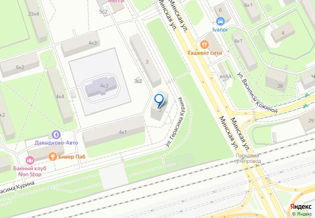 Москва, фили-давыдково, герасима курина улица, 44, к.
