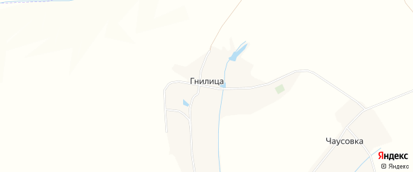 Карта хутора Гнилицы в Белгородской области с улицами и номерами домов