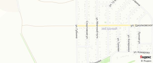 Улица Губкина на карте Губкина с номерами домов