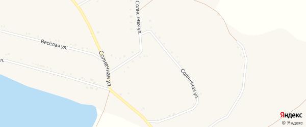 Парковая улица на карте села Богословки с номерами домов