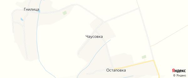 Карта хутора Чаусовки в Белгородской области с улицами и номерами домов