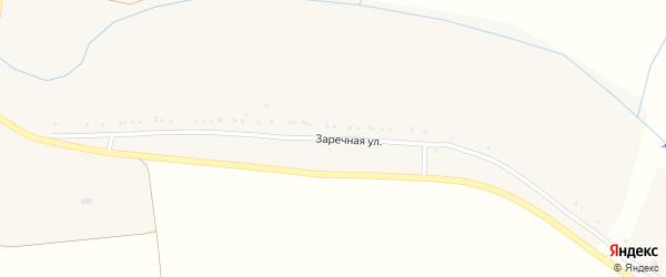 Заречная улица на карте села Тишанки с номерами домов