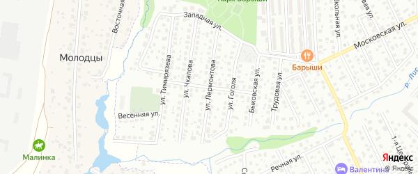 Улица Стасовой на карте Щербинки с номерами домов