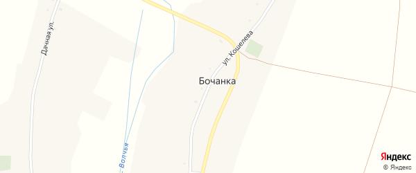 Улица Кошелева на карте хутора Бочанки с номерами домов