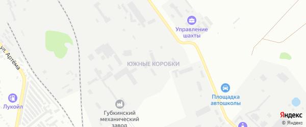 ГСК Александра ул Академическая 2-я территория на карте Губкина с номерами домов