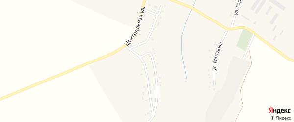 Центральная улица на карте Ярского села с номерами домов