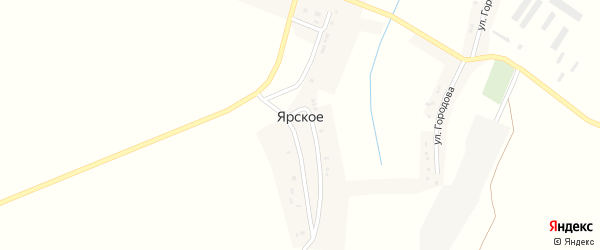 Молодежная улица на карте Ярского села с номерами домов
