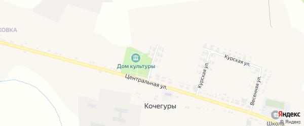 Молодежная улица на карте села Кочегуры с номерами домов