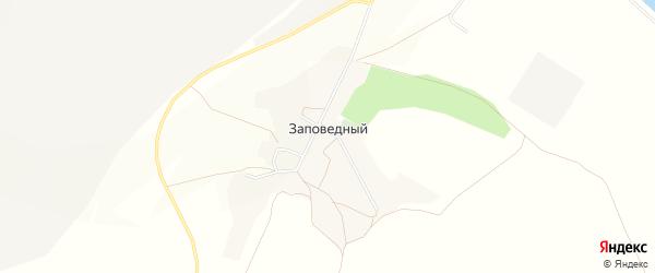 Карта Заповедного поселка в Белгородской области с улицами и номерами домов