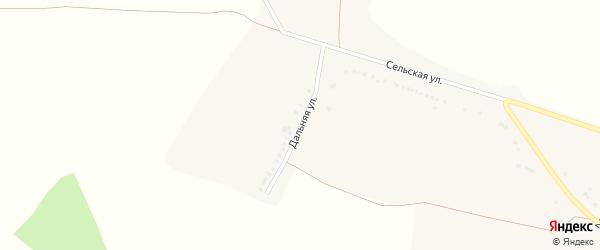 Дальняя улица на карте села Копцево с номерами домов