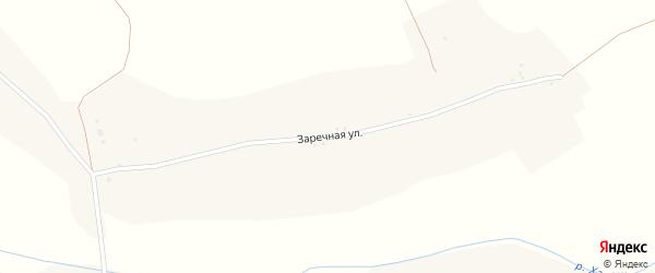 Заречная улица на карте села Прилепы с номерами домов