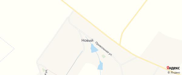 Карта Нового поселка в Белгородской области с улицами и номерами домов