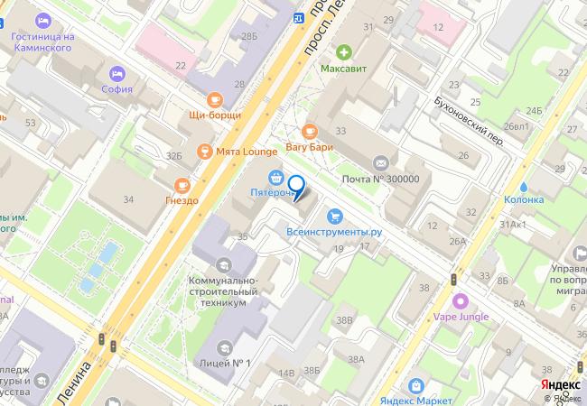 23d150749d63 улица Каминского, 21 на карте-панораме Тулы, организации, фото подробно