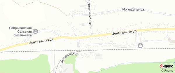 Центральная улица на карте Губкина с номерами домов