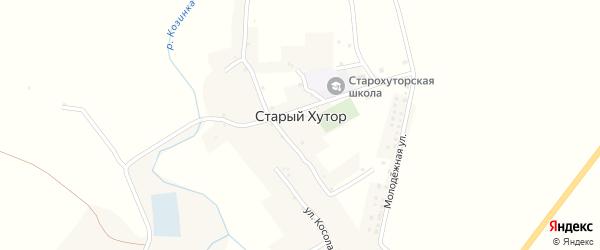 Молодежная улица на карте села Старого Хутора с номерами домов