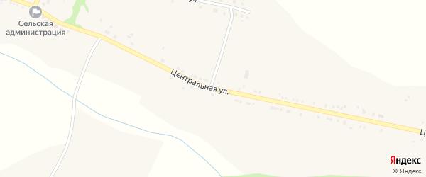 Центральная улица на карте села Ольшанки с номерами домов