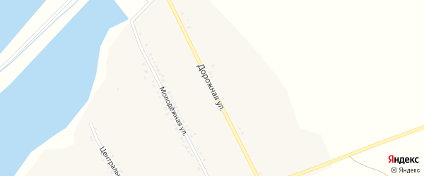 Дорожная улица на карте села Киселевки с номерами домов