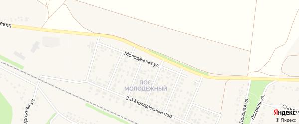 Молодежная улица на карте села Песчанки с номерами домов