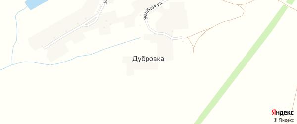 Улица Посохова на карте хутора Дубровки с номерами домов