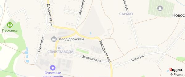 Майская улица на карте села Песчанки с номерами домов