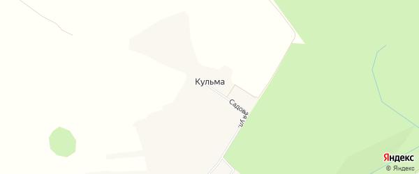 Карта хутора Кульмы в Белгородской области с улицами и номерами домов