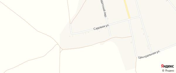 Садовая улица на карте села Слоновки с номерами домов