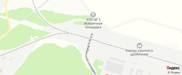 Площадка Фабричная проезд-4 на карте территории Юго-западный промрайон с номерами домов